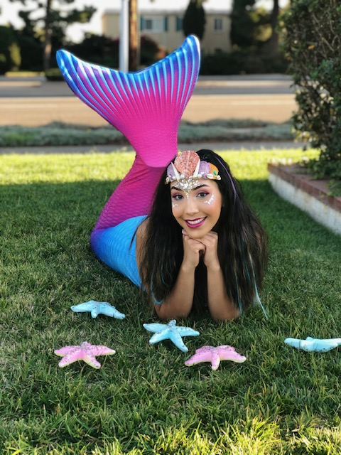 Becky as Swimming Mermaid
