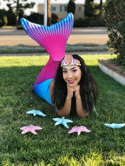 Becky as Swimming Mermaid