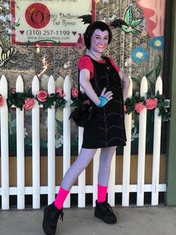 Lexie as Vampire Girl