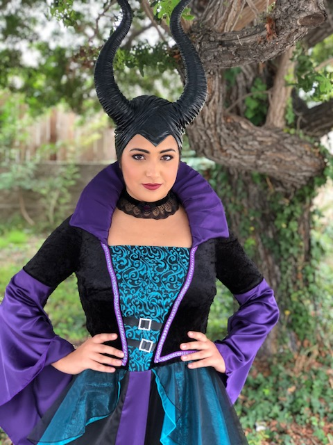 Kylie as Maleficent