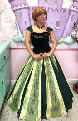 Imari in coronation ballgown