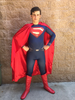 James as Super Hero