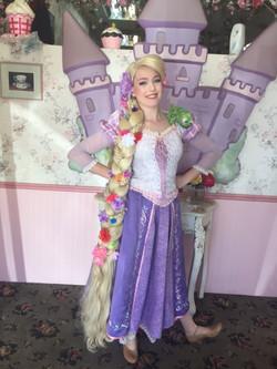 Mai as Rapunzel