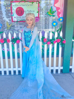 Brenna as Ice Queen