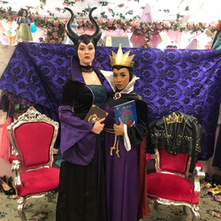 Mira as Maleficent/ Imari as Evil Queen