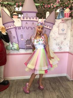 Becky as Unicorn Princess