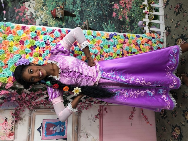 Kumari as Rapunzel
