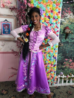 Kumari as Rapunzel