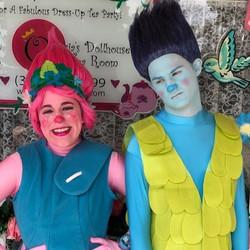 Pink & Blue Trolls