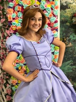 Lexie as The First Princess