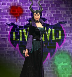 Mira as Maleficent