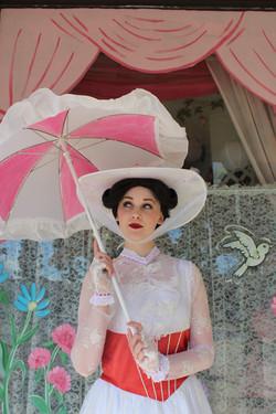 Mira as Mary Poppins