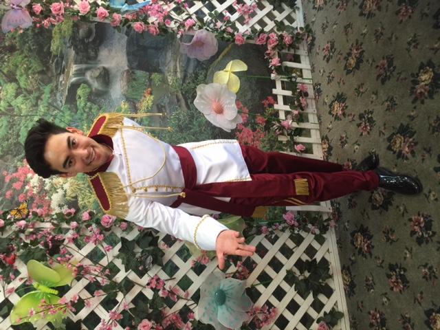 Kenji as Prince Charming