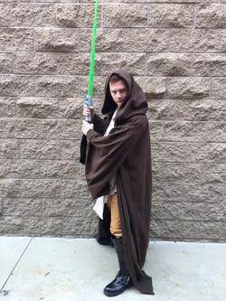Josh as Jedi Trainer