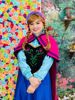 Robyn as Snow Princess