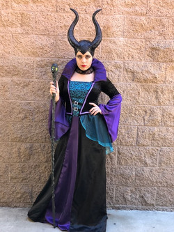 Rylee as Maleficent