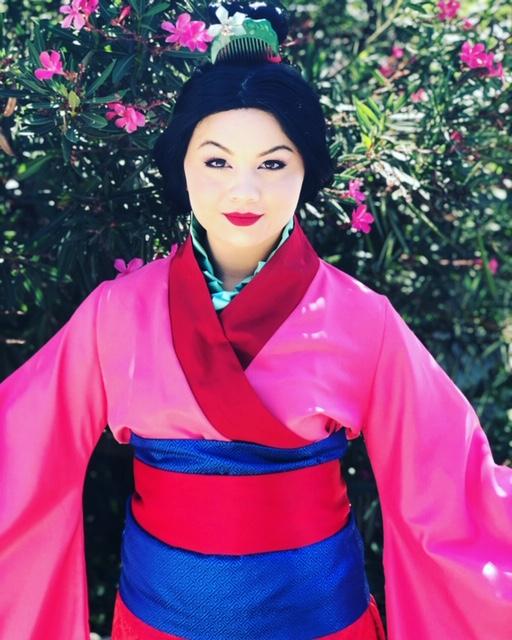 Robyn as Mulan