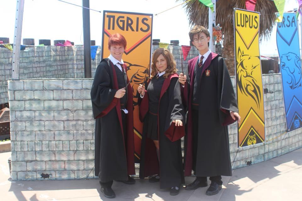 Josh, Rylee. Aidan Magic Students