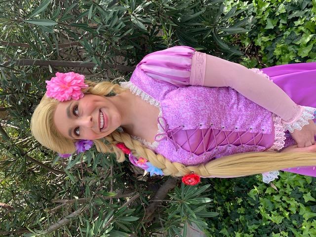 Rylee as Rapunzel