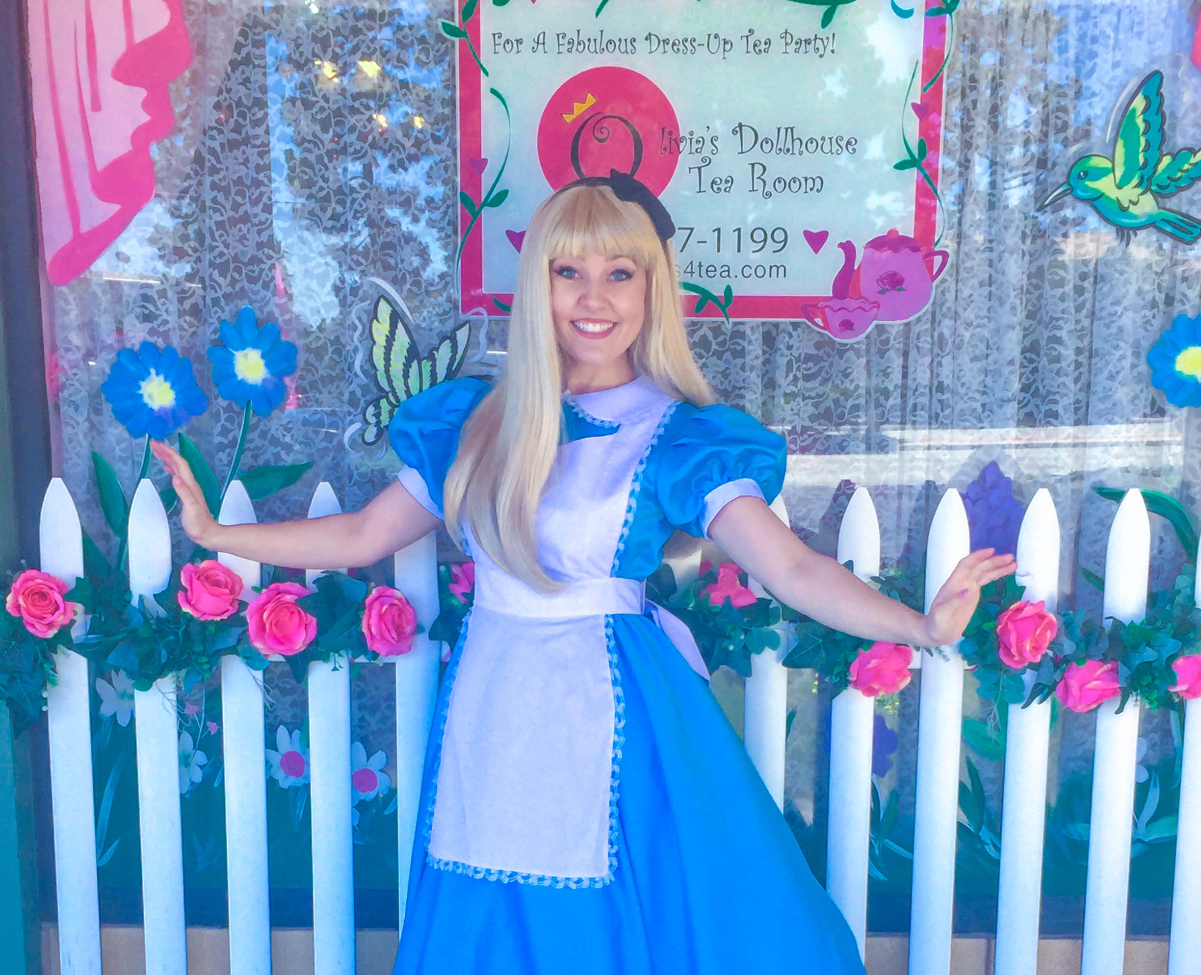 Brenna as Alice