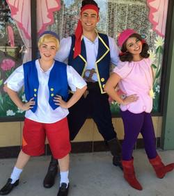 Rumor as Neverland Pirate (Left)