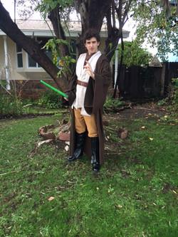 James as Jedi Trainer