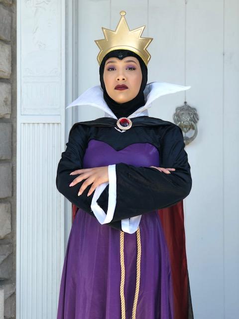 Becky as Evil Queen