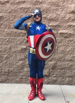 Josh as Cap