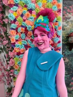 Rylee as Pink Troll