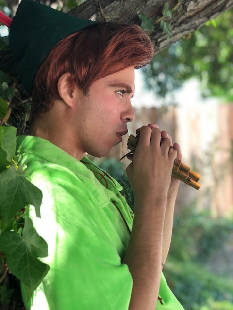 John as Peter Pan