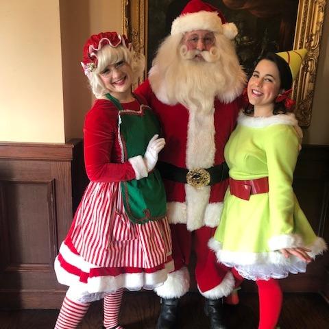 Serenity as Mrs. Jim as Santa