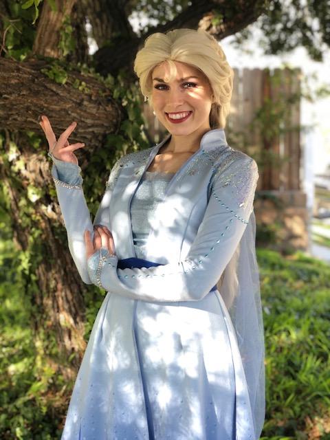 Emma in adventure costume