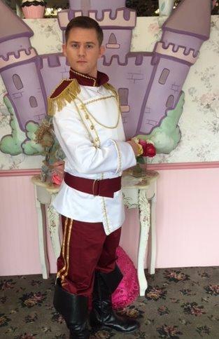 Josh as Prince