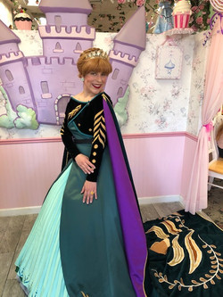 Rylee as Ice Queen