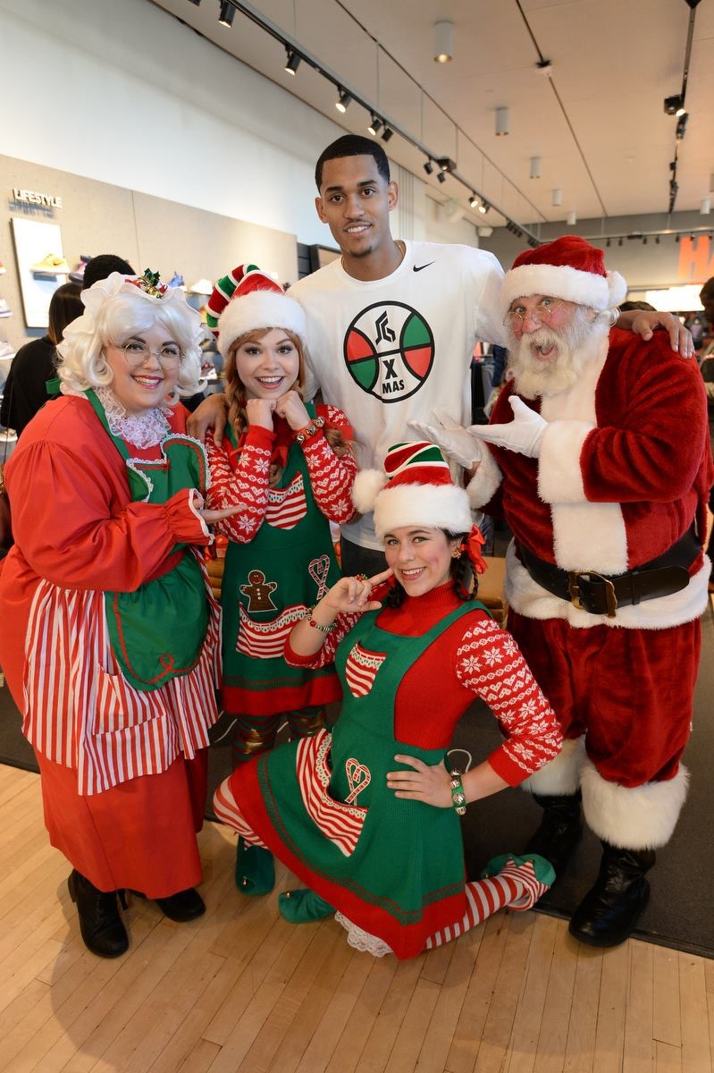 Santa with Lakers