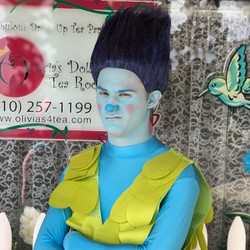 Josh as Blue Troll
