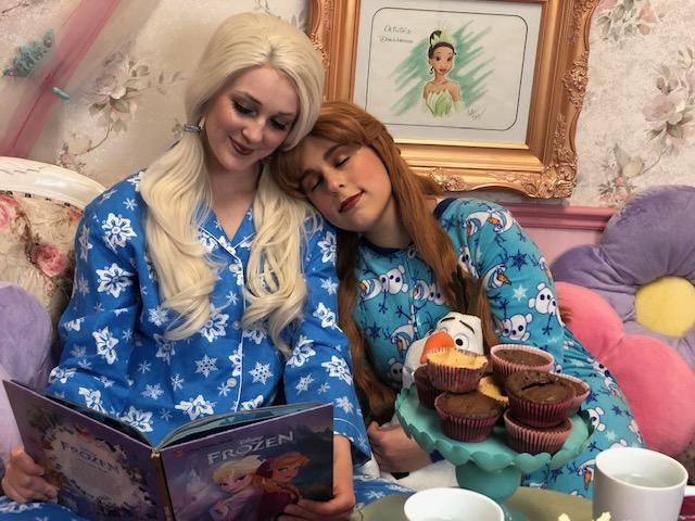Snow Sister Pajama Party