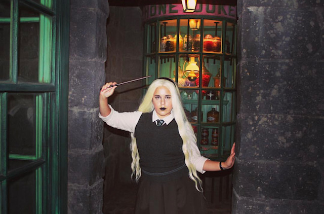 Rylee as bad witch