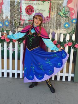 Brenna as Ice Princess