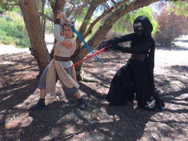Rylee as Jedi Kenji as Sith