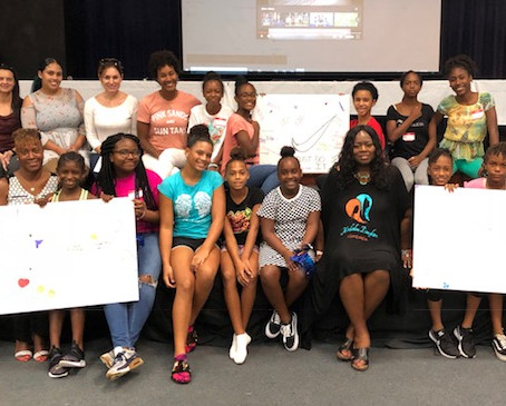 Highlights from the Bermuda Girls Empowerment Clinic