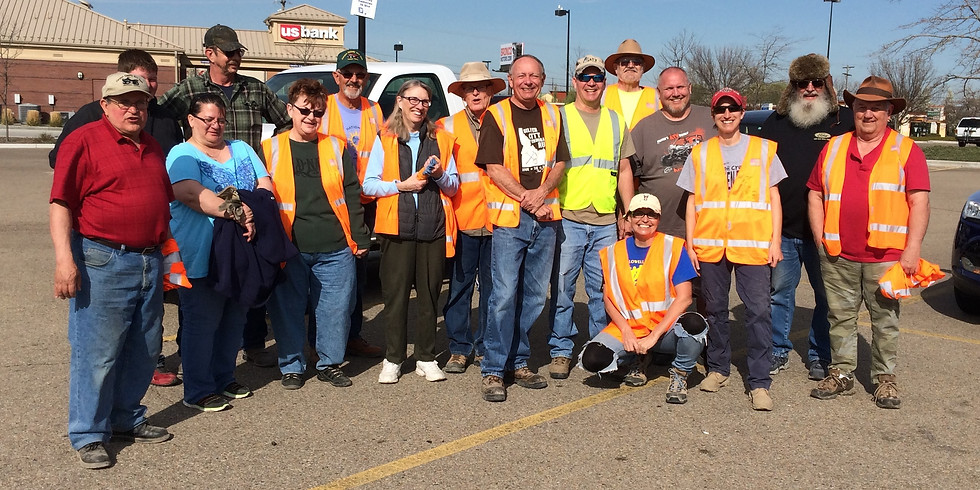 Spring Adopt-A-Highway Clean-up