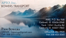 Bowers Transport