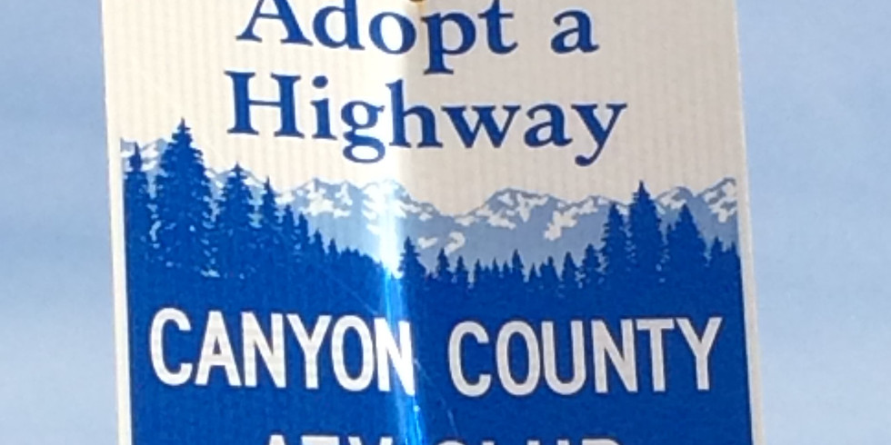 Fall Adopt-A-Highway Clean-up