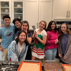 Baking day with key club! Thank you all