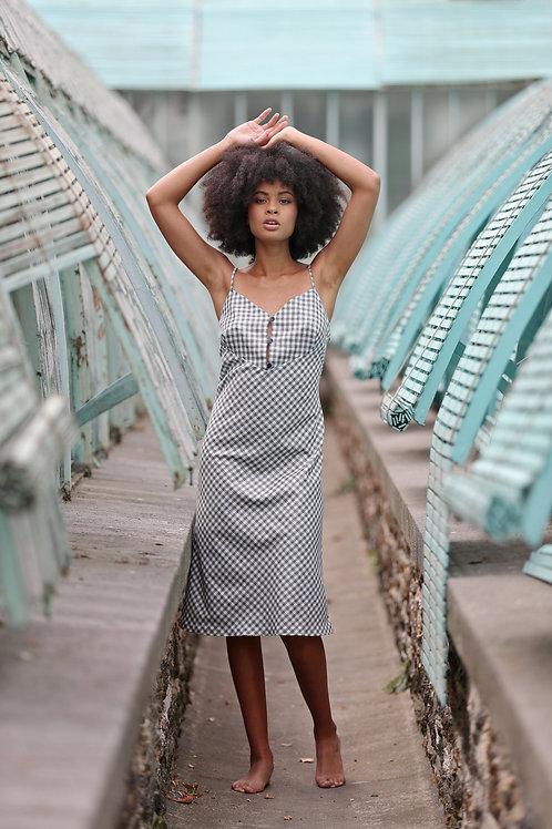 DEMI-Thin Strap Slip Dress
