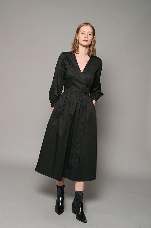 DYLAN - Cotton Wrap Dress