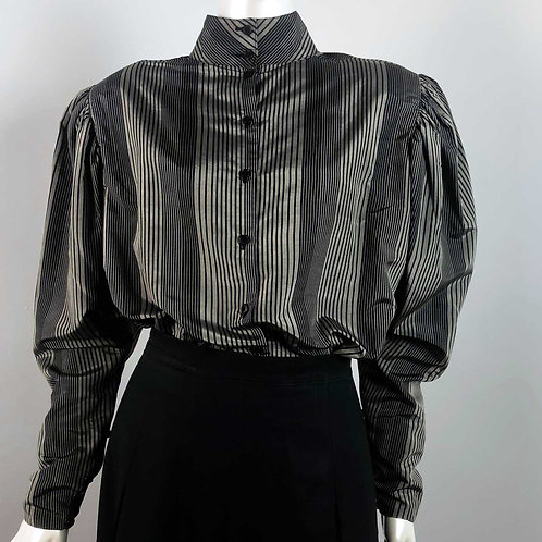 Blouse Vintage 1980's Mr Smith en Soie - Medium/Large