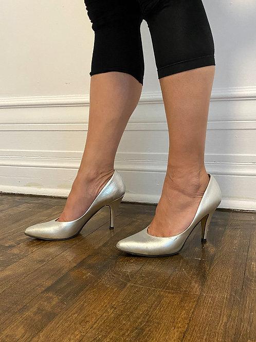 Chaussure argent Bocci
