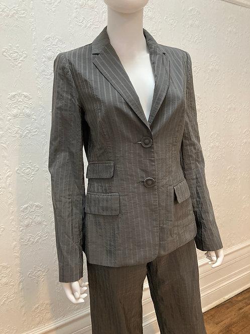 Ensemble Iris  2 pc veste pantalon gris